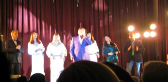 Performers in the concert for which I got a free ticket.