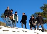 PCVs on the Rocks! From L: Abe, Bob, Sean, Shaun, Anna, Jim