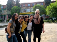 Some awesome PCV ladies. From L: Janira, Theo, Kim, Emily, Amanda