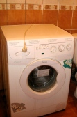 I also inherited a washing machine from my landlady, who bought a new one. No more handwashing! (At least until the machine's motor dies)