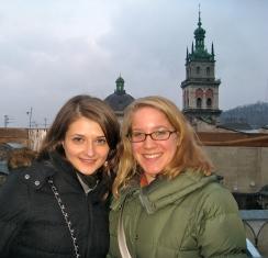 Natalia (former Ukrainian teacher) & me