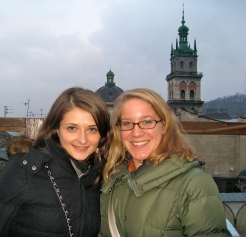 Natalia (former Ukrainian teacher) & me