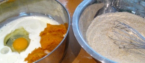 homemade sweet potato puree: peel, cube, & boil a sweet potato or two, then mash