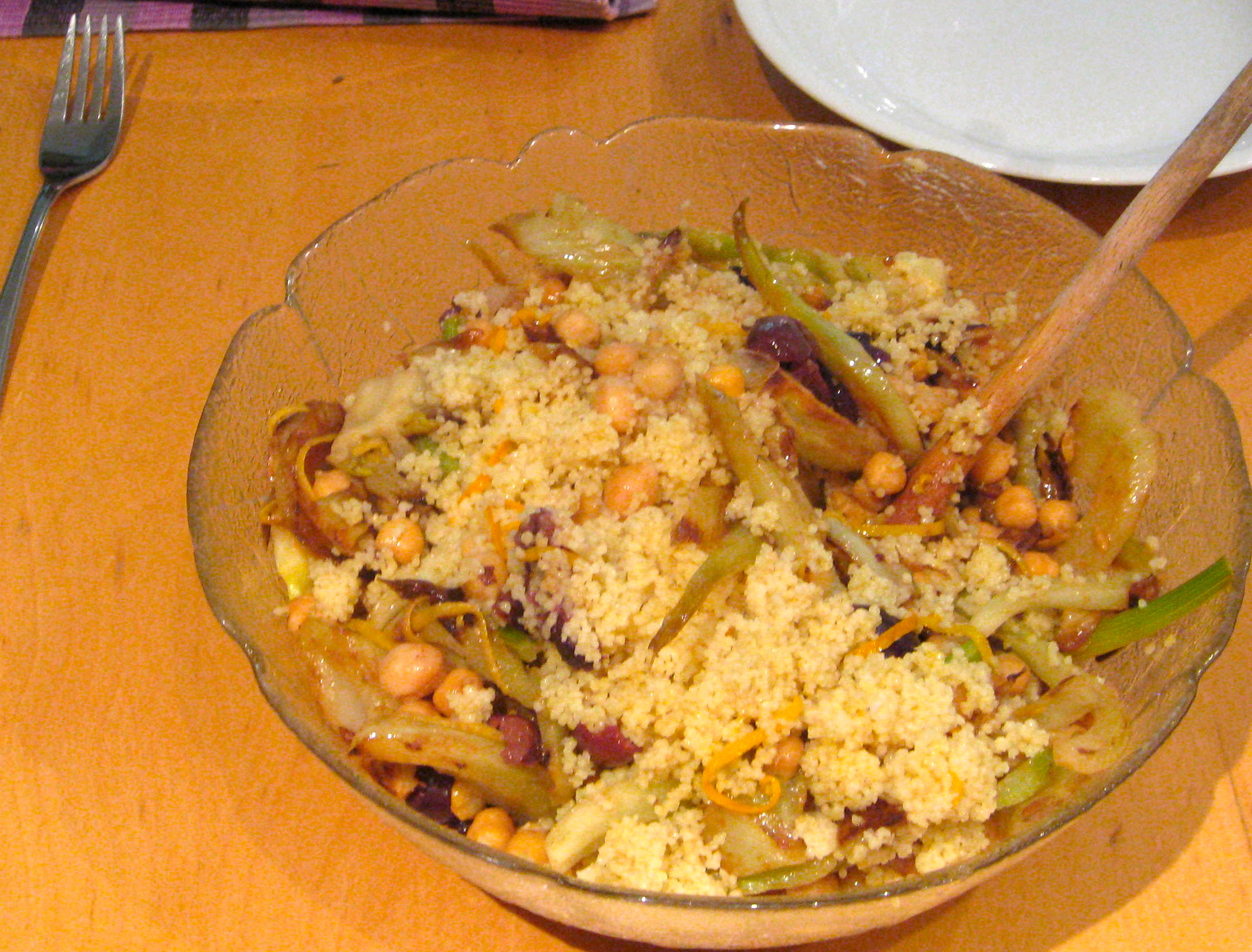 Recipe: Citrus Couscous with Caramelized Fennel & Chickpeas