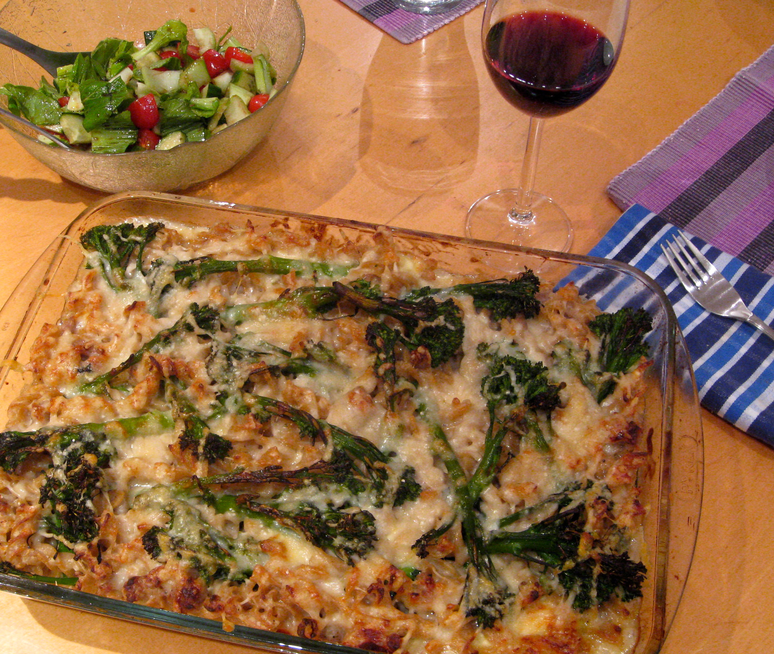 Recipe Cheesy Baked Pasta With Broccolini Sausage Wherever I Am