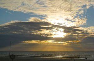 Belgian North Sea coast -- August