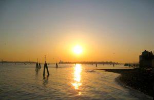 Venice sunrise -- late March