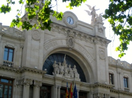 Valencia central post office