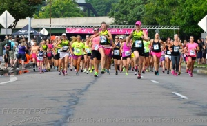 Women running the ROC! (Photo courtesy of Fleet Feet Sports Rochester)