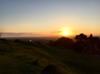 Sunset from Cleeve Hill