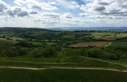 View from Painswick Golf Course