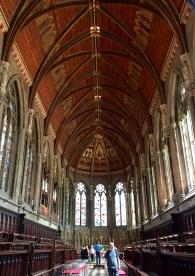Inside St. John's Chapel