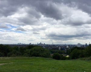 View from Parliament Hill in July 2016.