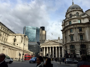 Didn't get any pictures during rehearsal, so here's a City of London shot on my way to the Barbican.