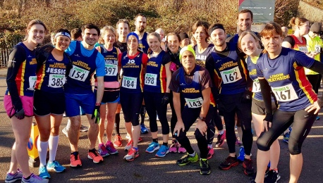 Heathsiders looking fresh before the start. Photo credit: Nilesh G.