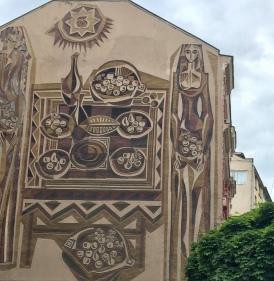 Mural in Sofia