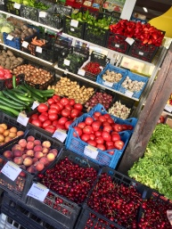 Colorful produce in Pravets
