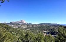 Montagne St Victoire from Bibémus Plateau