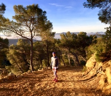 On the way down the gorge in Provence