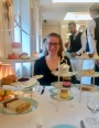 A posh afternoon tea