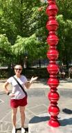 Colander sculpture!