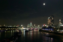 London by night.