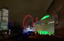 Southbank Centre & the London Eye.