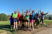 "Heathside ""not the 9am"" Sunday long run group."