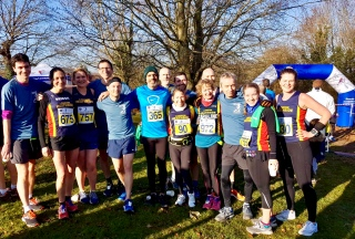 Heathsiders post-race. Photo credit: Nilesh.