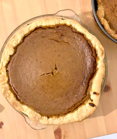 pumpkin pie - the nice one